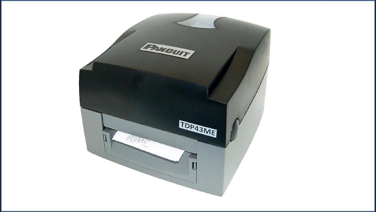 Panduit TDP43HE Printer Windows