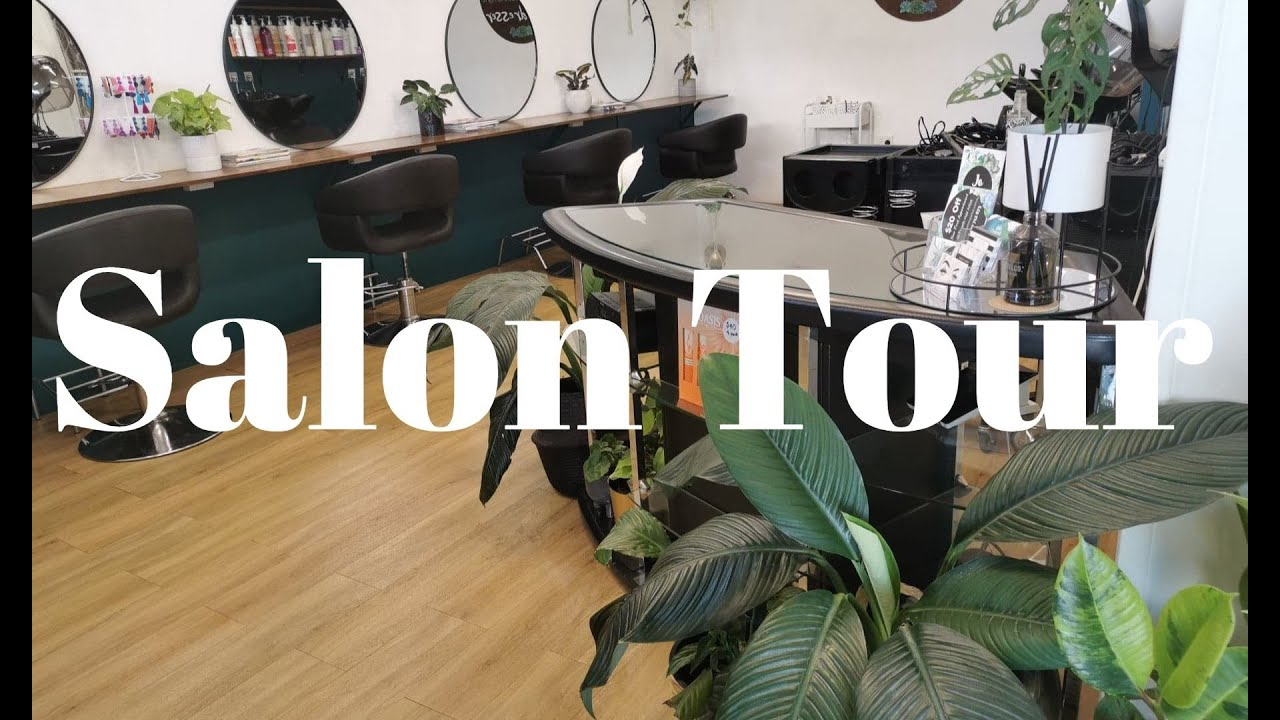 Salon tour   whats in my beauty room - YouTube