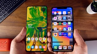 Galaxy S20 Ultra vs iPhone 11 Pro Max - Apple vs Samsung 2020