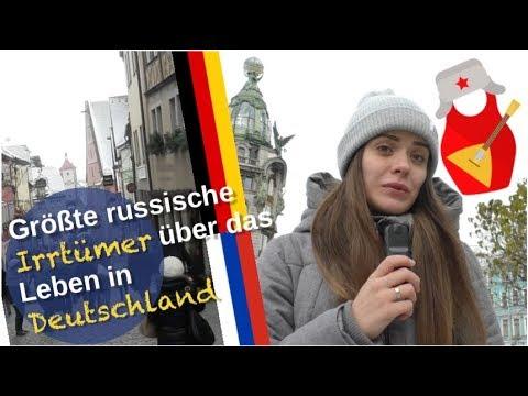Russische Irrtümer über Leben in Deutschland