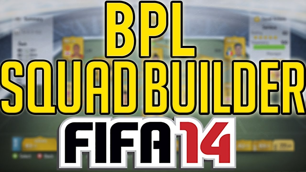 FIFA 14 Ultimate Team | 200k BPL Squad Builder | XBOX ONE