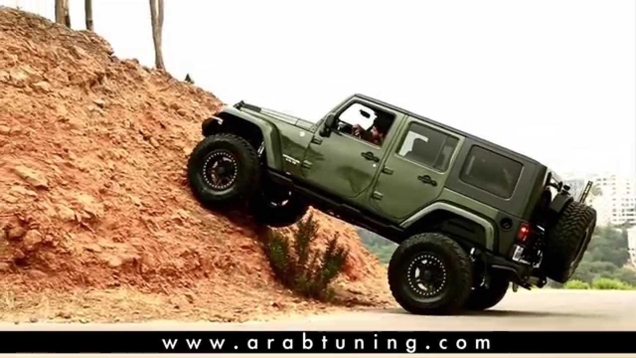 Jeep Wrangler Customized by Xtreme 4x4 - YouTube