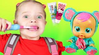 Se Cepilla Los Dientes - Rutina de la mañana | Canciones Infantiles con Nicole