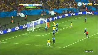Colombia vs Uruguay 2 0 Mundial Brasil 2014 tv publica