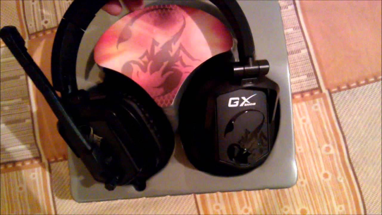 6639a828c3b Auricular Microfono Gx Gaming Lychas Hs-g550 Headset Genius - $ 1.536,00 en  Mercado Libre