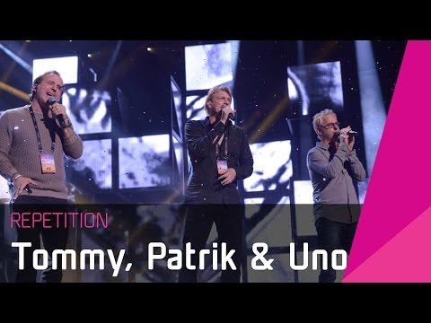 Patrik Isaksson, Tommy Nilsson & Uno Svenningssons | Smygtitt Inför Melodifestivalen 2016