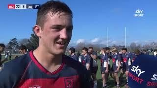 Secondary Schools Rugby: Hastings Boys v Tauranga Boys (Full Game)