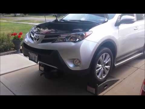 How to Oil Change Toyota Rav4 2.5L 4 Cylinder 2013 -2016 DIY and save money