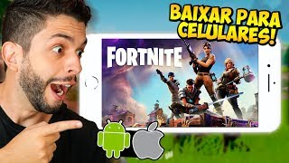 HOW TO DOWNLOAD FORTNITE ON MOBILE? THE BIGGEST GAME OF THE MOMENT NOW ON IOS AND ANDROID!