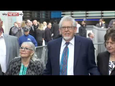 Rolf Harris Arrives At Court For Assault Trial