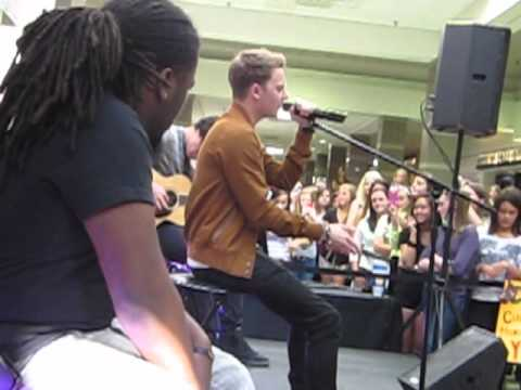 Conor Maynard live performance at Colonial Park Mall