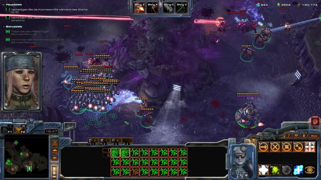 Starcraft 2 Coop Brutal Mode Random Leveling (4K)