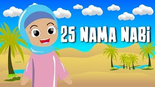 Gambar cover Lagu Anak Islami - 25 Nama Nabi