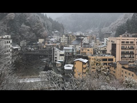 Snowy Onsen Town Tour | Tsuchiyu Hot Spring