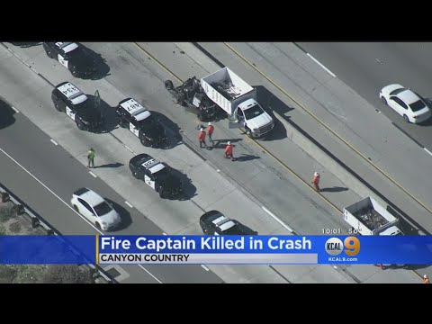 LA County Fire Captain Killed In Crash In Santa Clarita