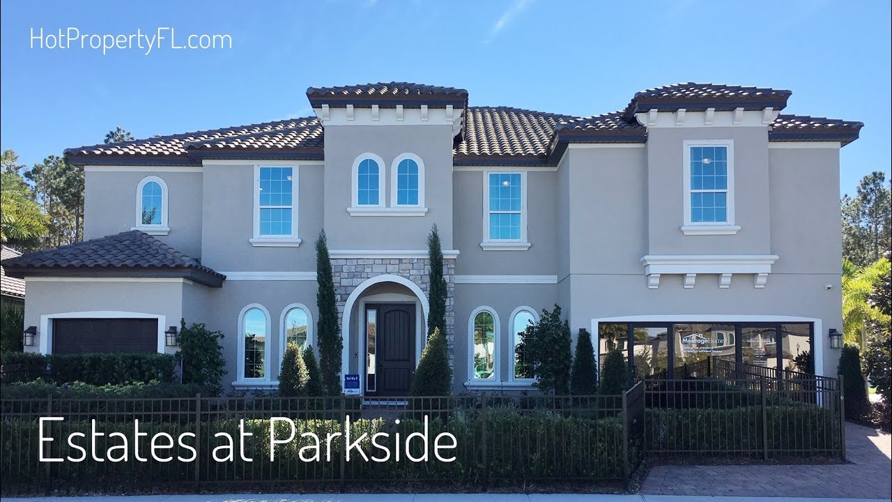 New Home Tour | 5 Br, 5,169 sq ft. | 2 Master Bedrooms | Dr Phillips /  Orlando | Meritage Homes