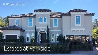 New Home Tour  5 Br 5169 sq ft  2 Master Bedrooms  Dr Phillips  Orlando  Meritage Homes