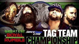 OMG!   The Usos  vs The Bludgeon Brothers at The Greatest Royal Rumble   WWE 2K18