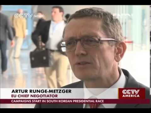 UN's chief climate negotiator speaks with CCTV's Roee Ruttenberg in Doha, Qatar