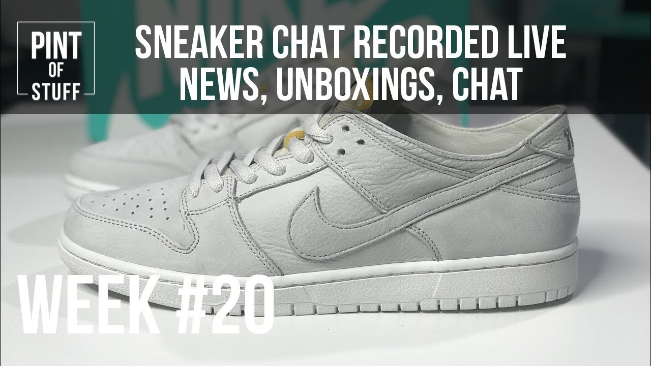 Recorded Live Sneaker Chat  Nike SB Zoom Dunk Low Pro Deconstructed Unboxing 5ef19e2aa