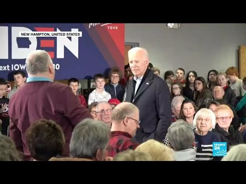 """You're a damn liar"": Biden lashes out at audience member at campaign event"