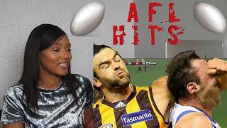 Clueless American Sports Fan Reacts to Australian Football Biggest Hits