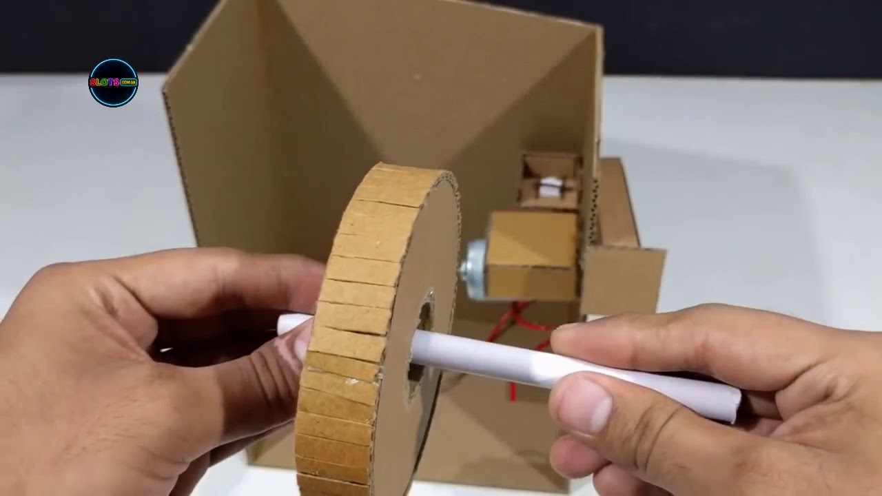 Как сделать игровой автомат своими руками