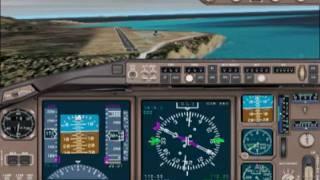 Flight Simulator 2002- landing at Madeira