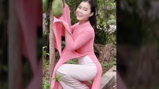 Áo dài duyên dáng _ Phụ nữ Việt