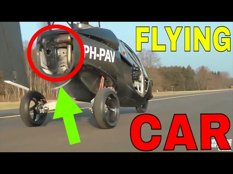 PAL-V Liberty | The WORLDS First Official Flying Car | Get Fixed