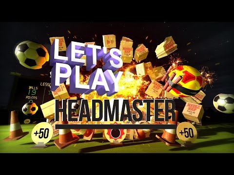 Let's Play some PSVR - Headmaster!!!