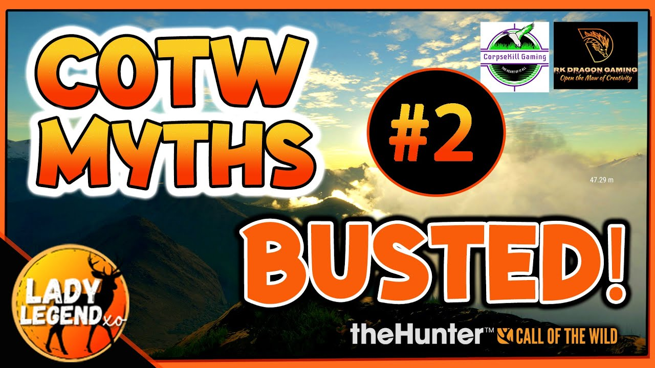 TOP Call of the Wild Myths BUSTED #2! Dispelling Common Myths that Could Be Affecting Your Gameplay