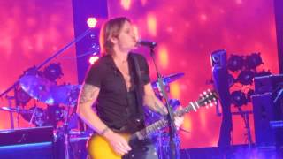 Keith Urban Cincinnati OH 7-18-13 Light the Fuse Tour Stupid Boy