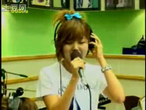 [Radio Cut] Raina singing to Na Yoon Kwon's  뒷모습 @ Sukira