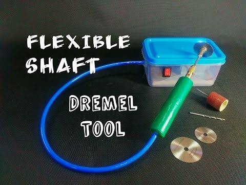 Thumbnail: How To Make a Flexible Shaft Dremel Tool || at home || DIY || Easy and Simple