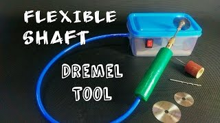 How To Make a Flexible Shaft Dremel Tool || at home || DIY || Easy and Simple thumbnail