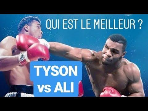 Mike TYSON vs Muhammad ALI qui GAGNE ?