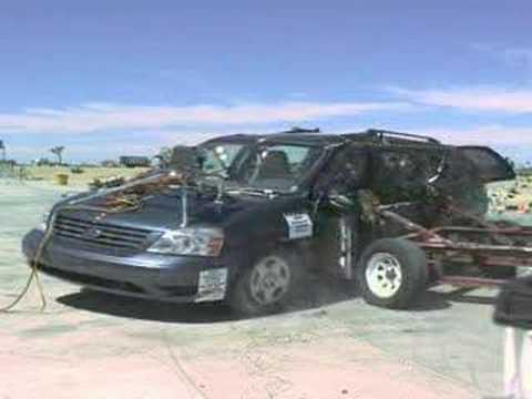 2006 Ford Freestar Side Crash Test