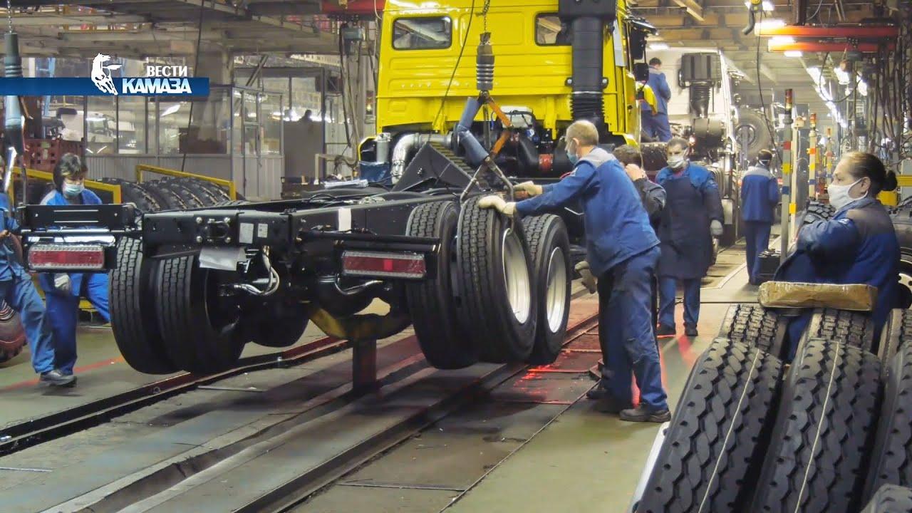 Главный сборочный конвейер камаза авто ру краснодарский край фольксваген транспортер