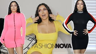 FASHIONNOVA DRESS HAUL!