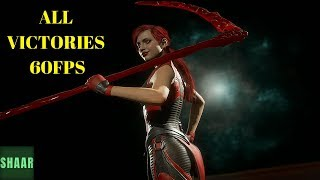 MORTAL KOMBAT 11 All Characters Victory Poses (MK11) PC 60FPS Mode