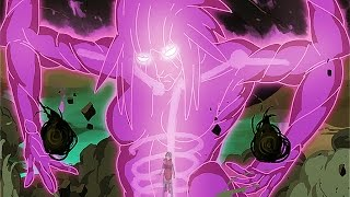 sarada unleashes susano o vs sasuke uchiha naruto shippuden ultimate ninja storm 4 road to boruto