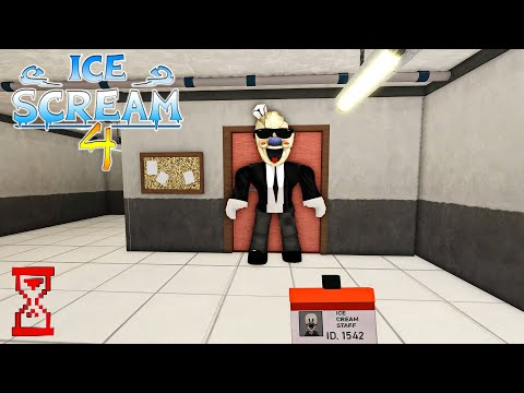 Видео: Прохождение Мороженщика 4 в Роблоксе // Roblox Ice Scream 4