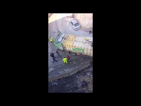 Garbage Truck Slams Into Pedestrians In East Jerusalem