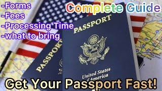 Applying for a UŠ passport for the first time 2021  Everything You Need to Know  Step By Step