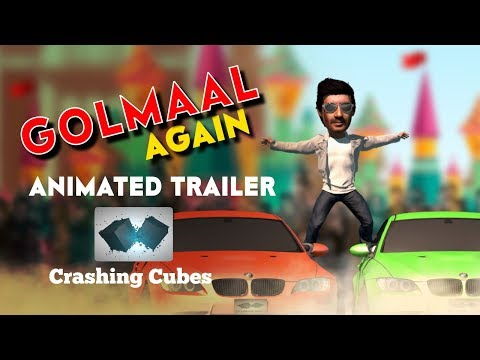 Golmaal Again | Animated Trailer | Ajay...