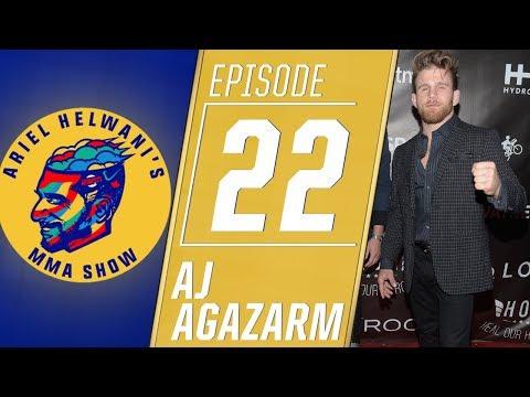 Brazilian jiu-jitsu star AJ Agazarm announces his deal with Bellator | Ariel Helwani's MMA Show