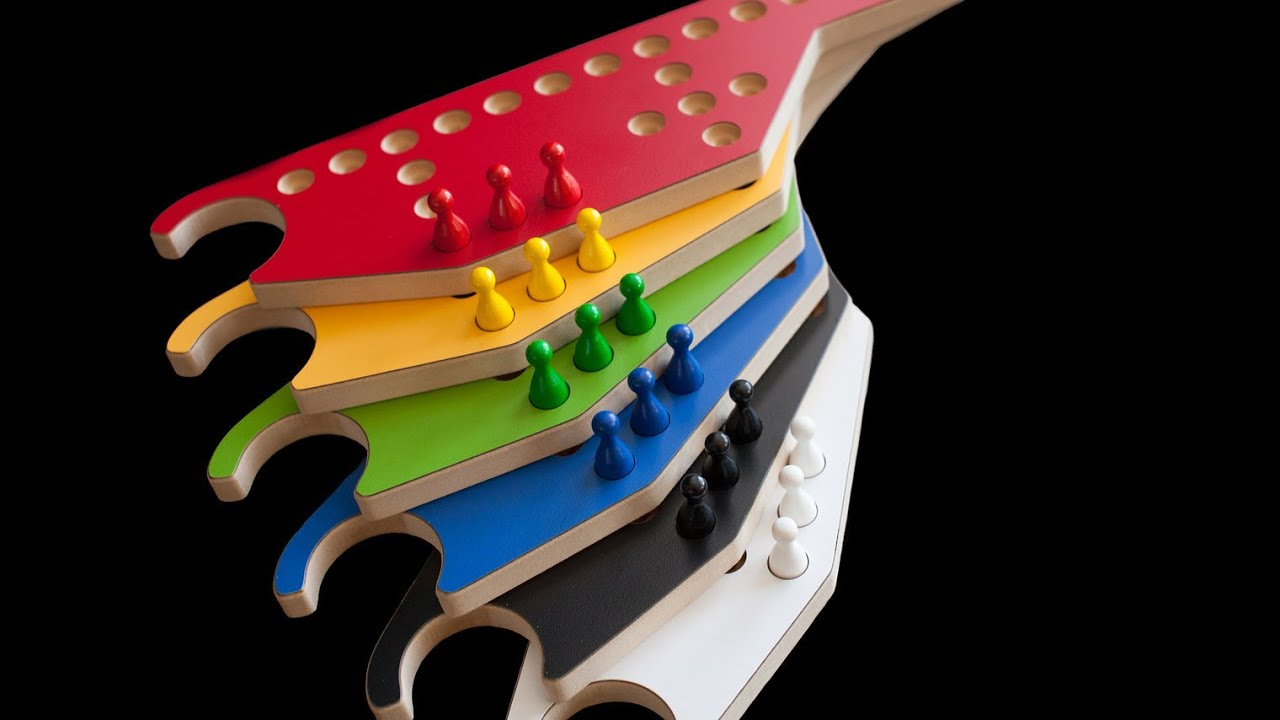 6 Player Pegs And Jokers Game By Wizard Woodworks