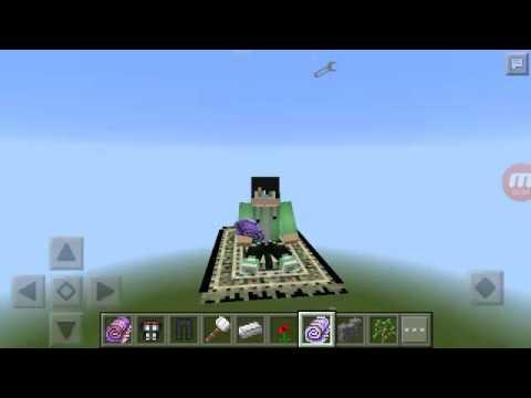 Minecraft mod: tapete mágico