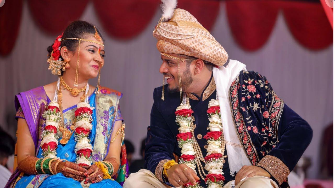 Cinematic Wedding Highlights    Rupali & Yogesh    Marathi Wedding Flim